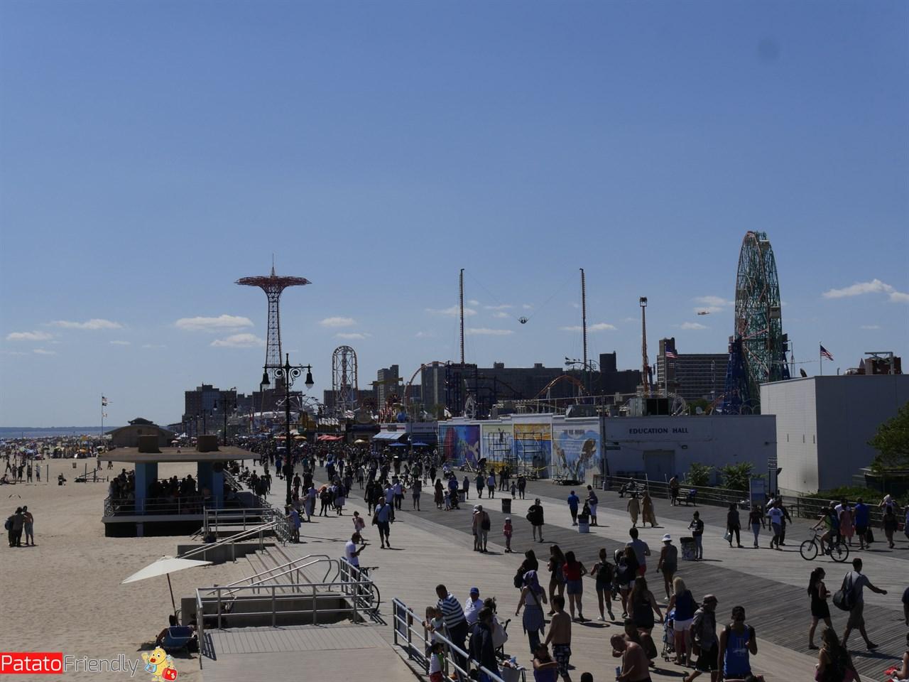 Coney Island in famiglia