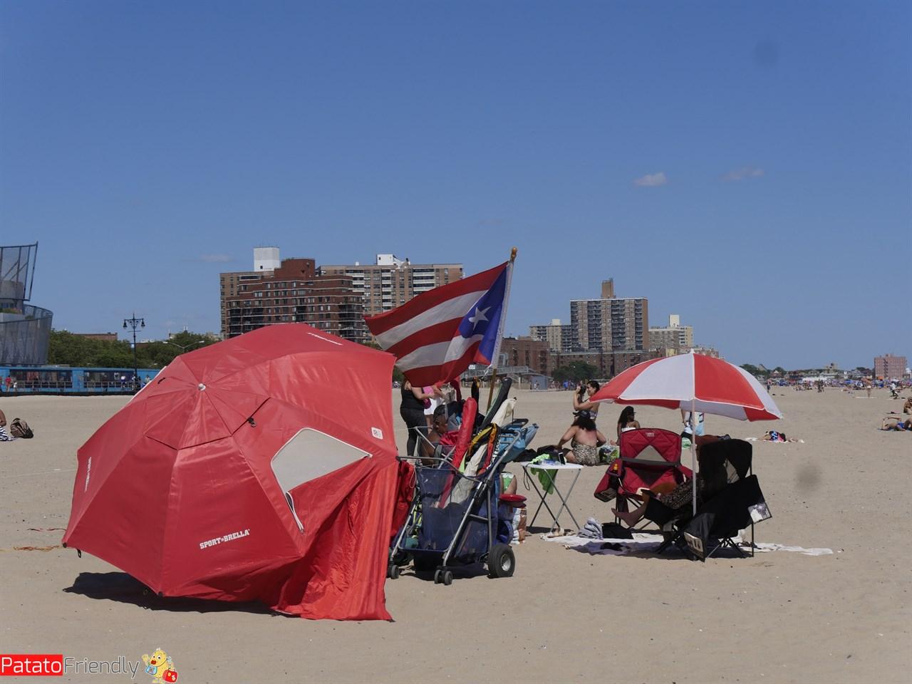 La spiaggia di New York - Coney Island