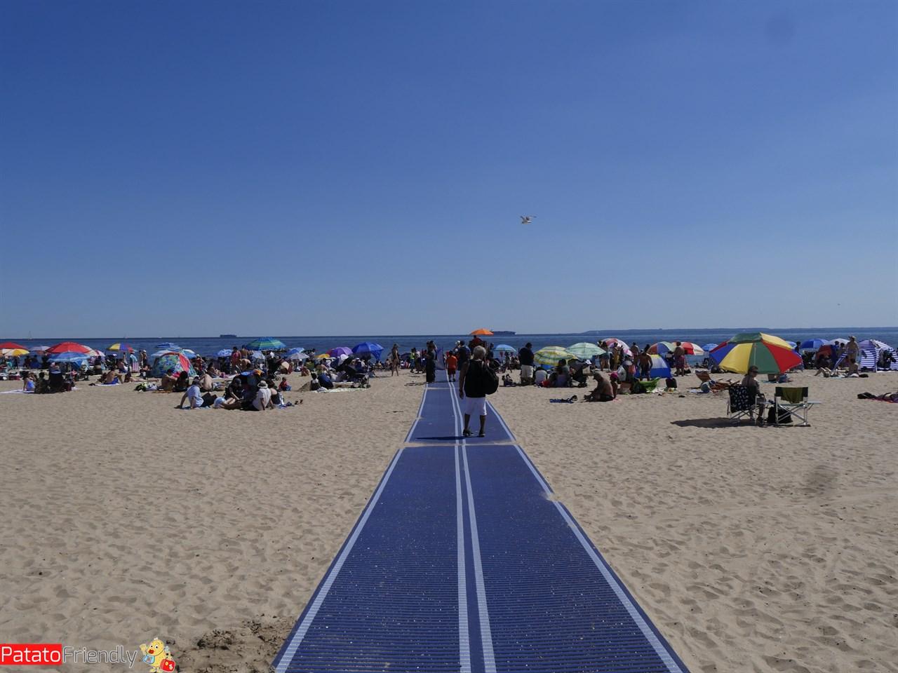 Andare in spiaggia a Coney Island coi bambini