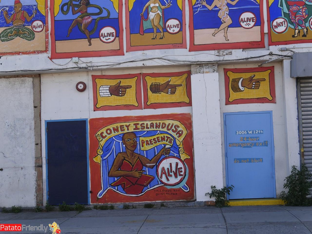 Coney Island - Luna Park e divertimenti