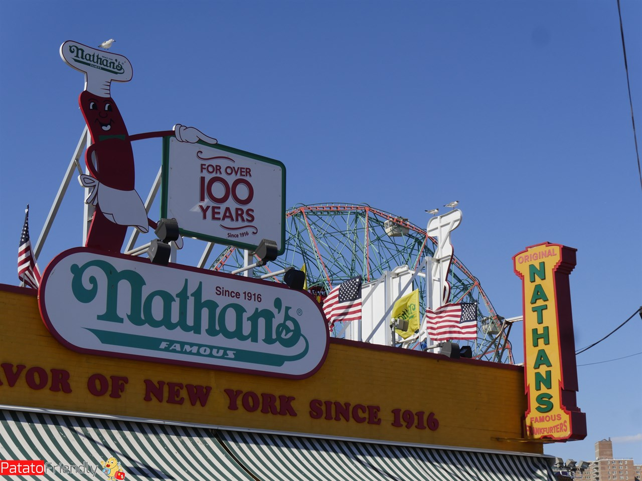 Dove mangiare a Coney island gli hote dog di Nathan's