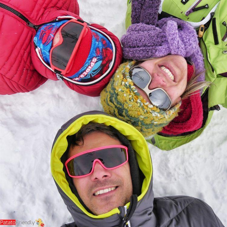 Imparare a sciare coi bimbi