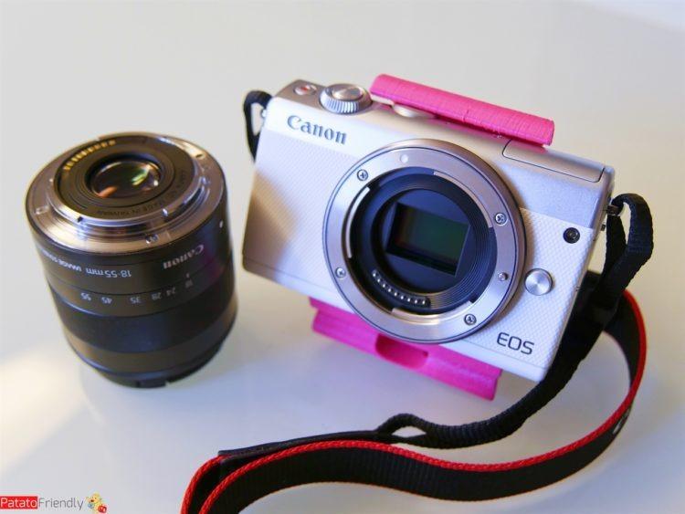 Recensione Canon EOS M100 - Copertina