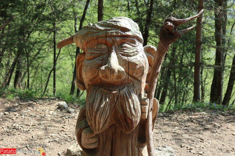 Gnomi nel bosco di Canzo