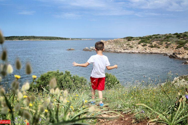 Vacanza in Costa Smeralda coi bambini - Faro di Capo Ferro