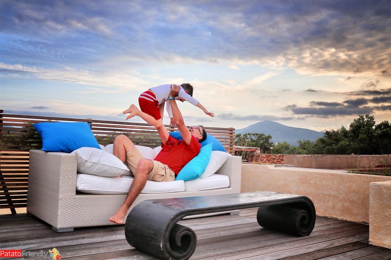 In terrazza - casa vacanze fronte mare in Sardegna