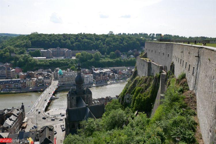 La cittadelle di Dinant - Vallonia