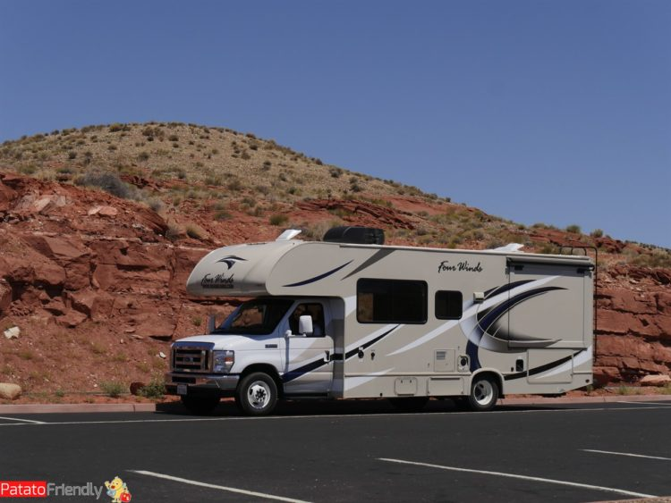 Tour Stati Uniti in camper al Lake Powell - noleggiare un camper in USA