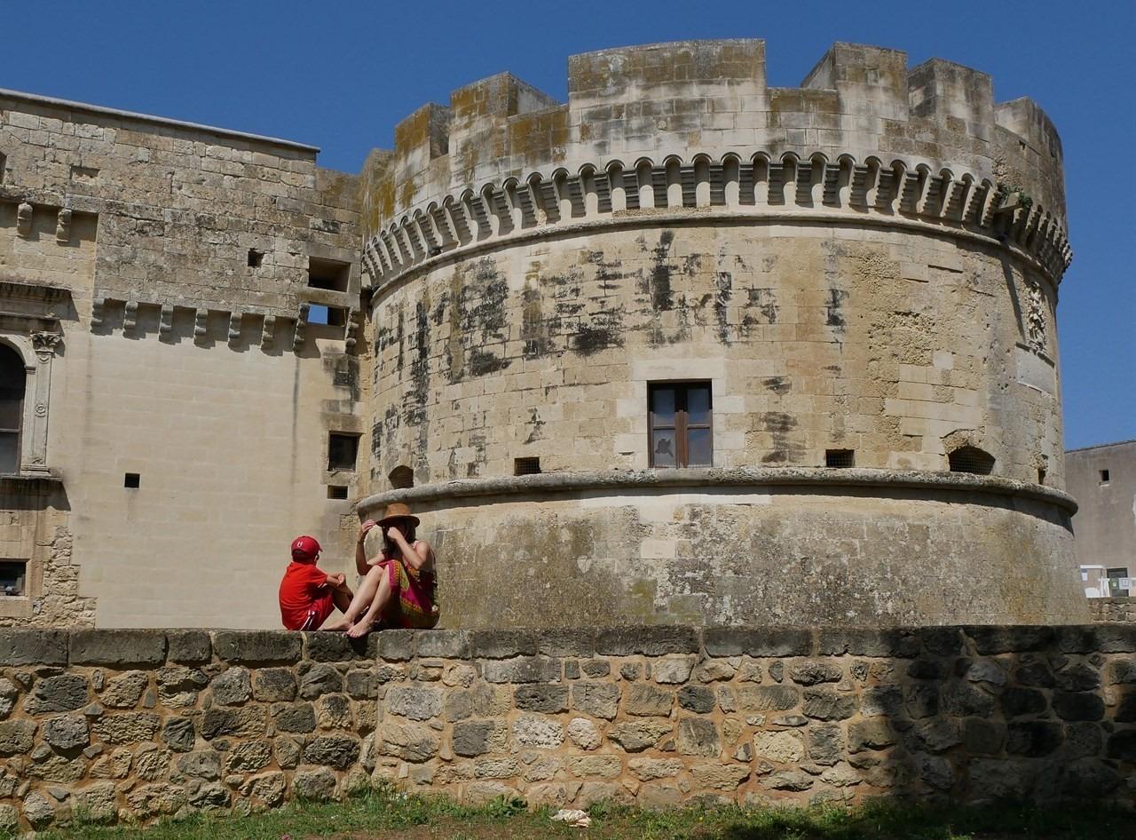 La bellissima fortezza di Acaya