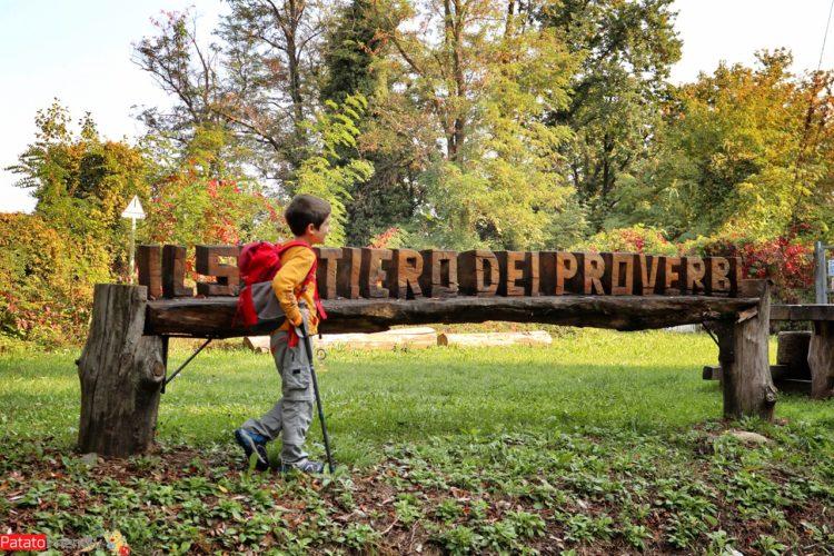 Il Sentiero dei Proverbi di Lissolo - gita coi bambini in Brianza - passeggiate semplici in Lombardia