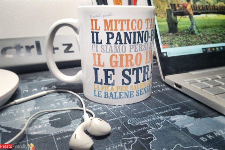 Regali per Lui: Troppotogo - tazza per chi ama viaggiare - regali per un travel blogger