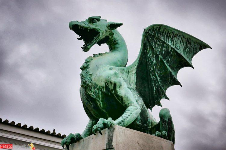 Lubiana - i draghi della città della Slovenia e cambiare vita