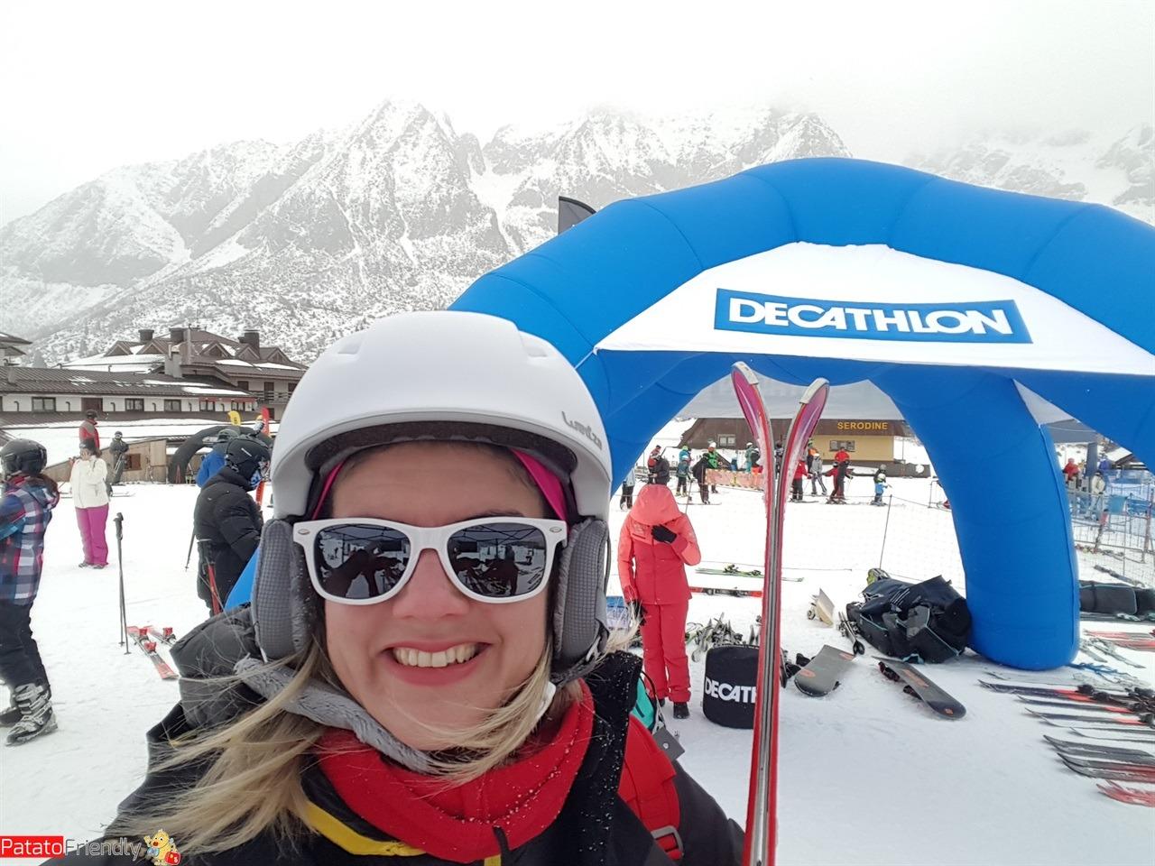 Decathlon SkiDays - Il padiglione Decathlon per provare gli sci