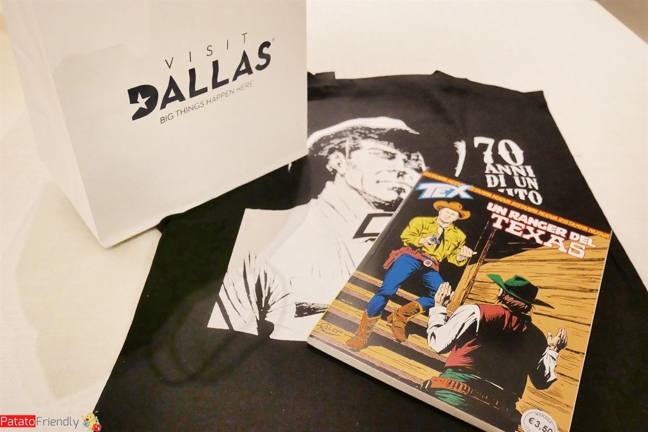 Evento per scoprire Dallas e la mostra di Tex Willer