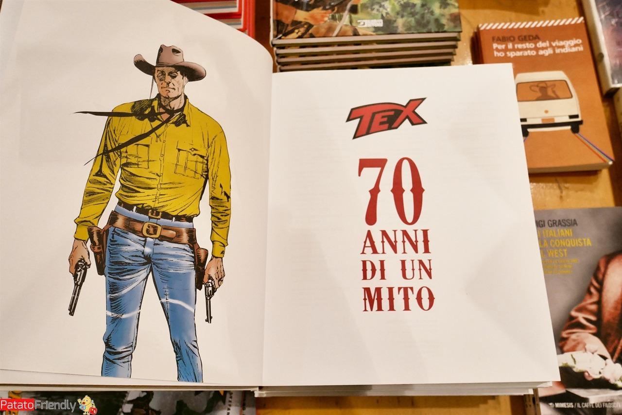 Mito di Tex Willer fumetti, libri e albi