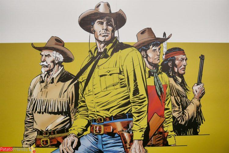 Mostra di Tex Willer - i fumetti di Tex