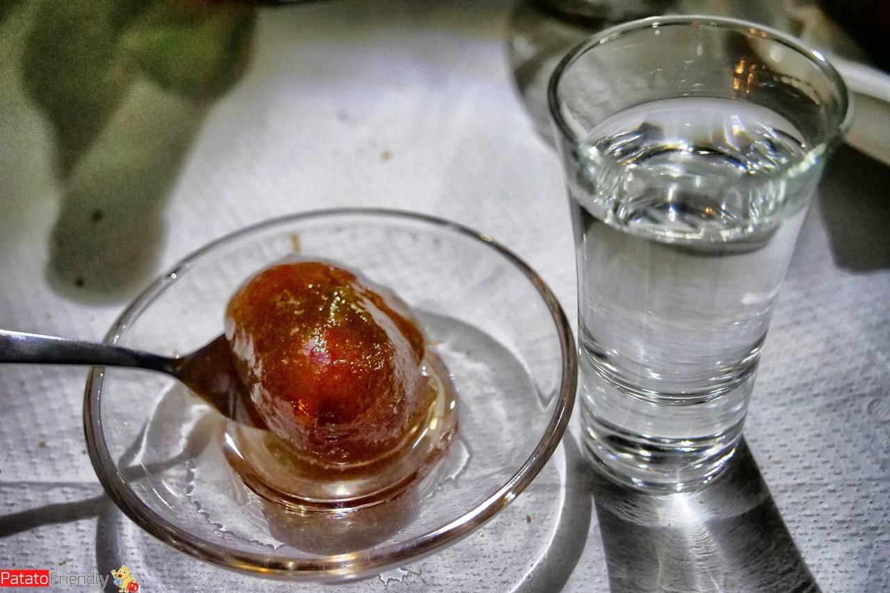 Il Gliko, specialità tipiche da provare in Albania a Permet