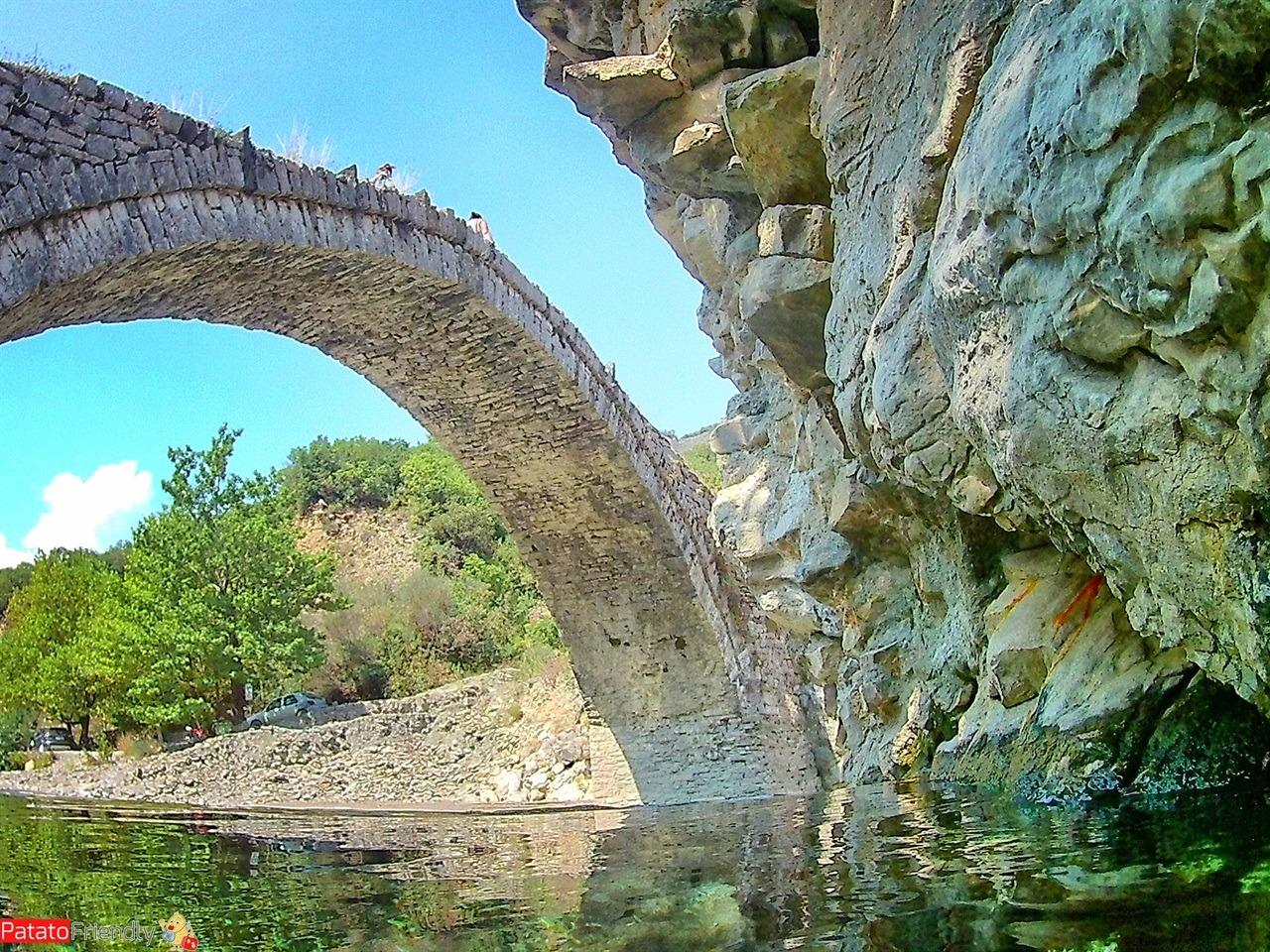 Il ponte ottomano delle terme di Permet in Albania
