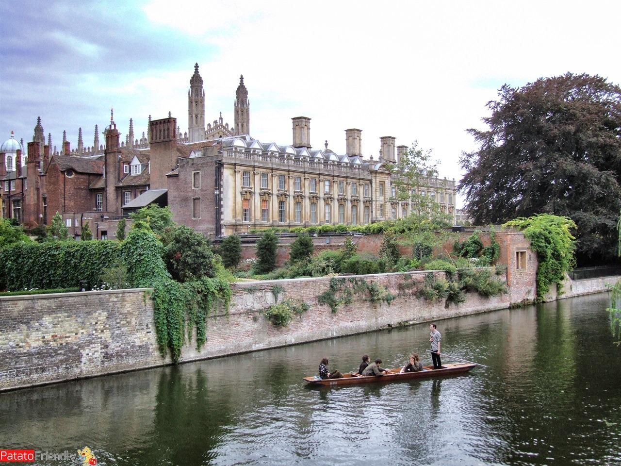 Viaggio nell'Inghilterra meridionale - visitare Cambridge