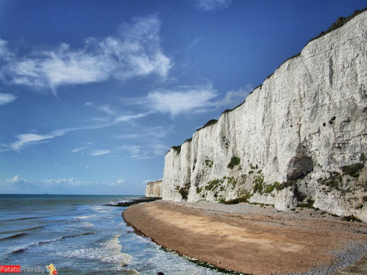Le scogliere di Dover - viaggio in Inghilterra del sud