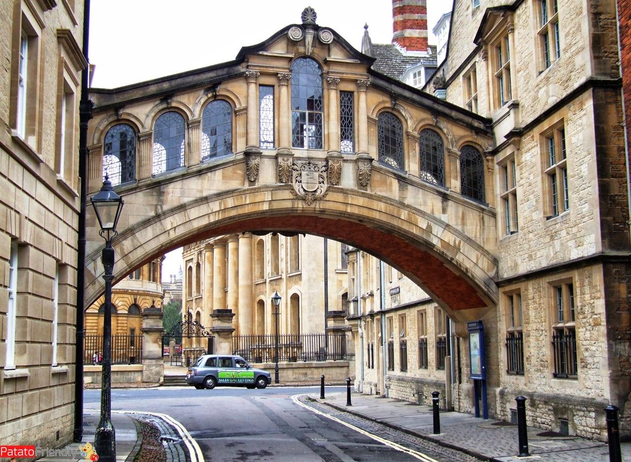 Viaggio in Inghilterra del sud - il ponte di Oxford
