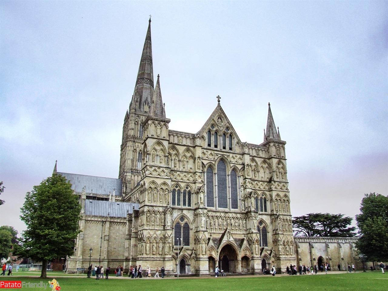 Da vedere in Inghilterra - la cattedrale di Salisbury