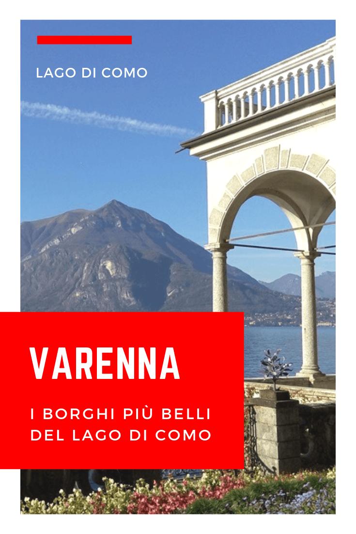 VARENNA cosa vedere - foto di Villa Monastero a Varenna sul lago di Como