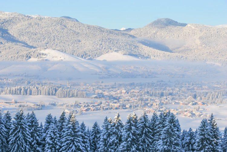 L'Altipiano di Asiago con la neve - Panorama