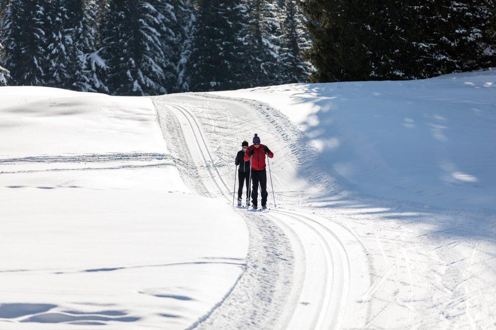 Attività sportive dell'Altopiano di Asiago - lo sci di fondo