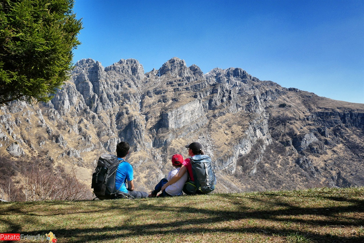 Trekking ai Piani d'Erna con bambini