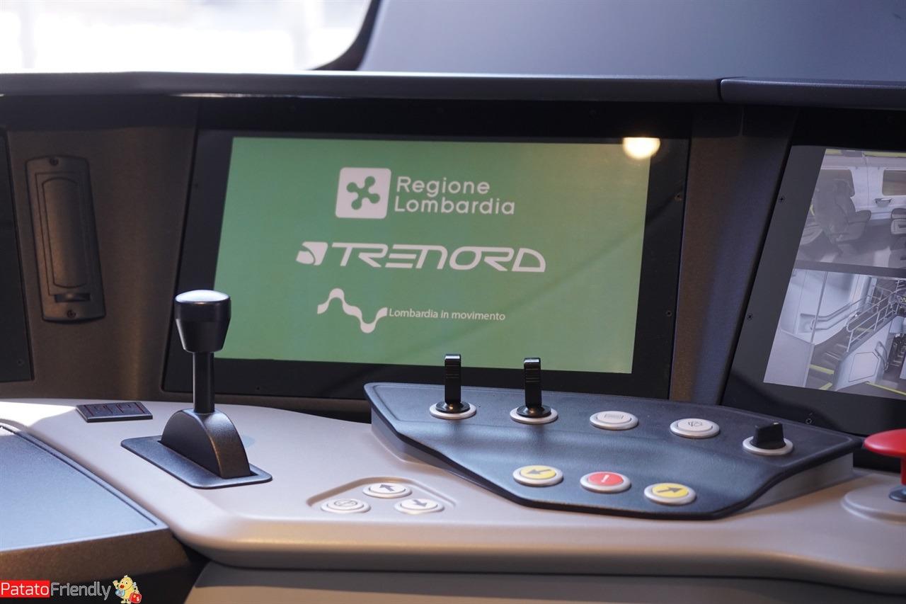 Nuovi treni regionali Trenord - Viaggiare in treno in famiglia