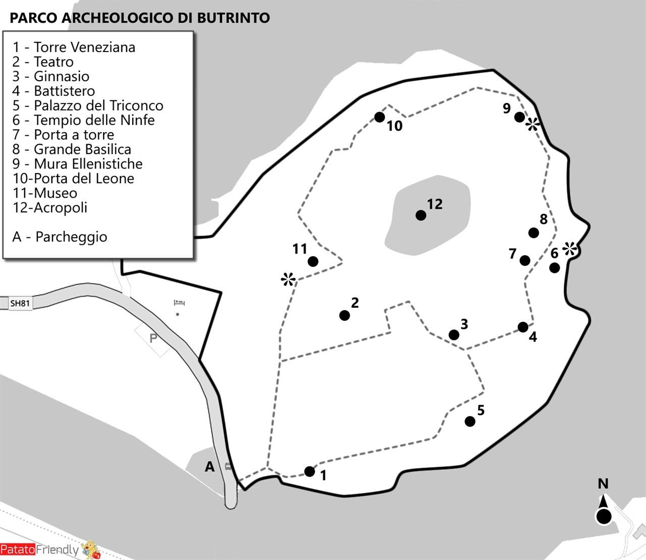 Mappa Parco Archeologico Butrinto - Albania.jpg