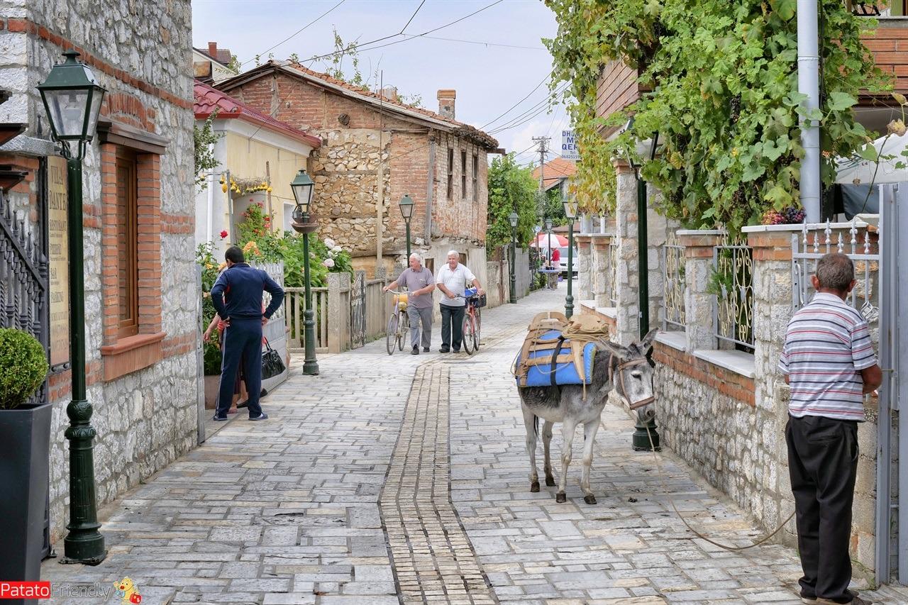 le strade di Lin in Albania