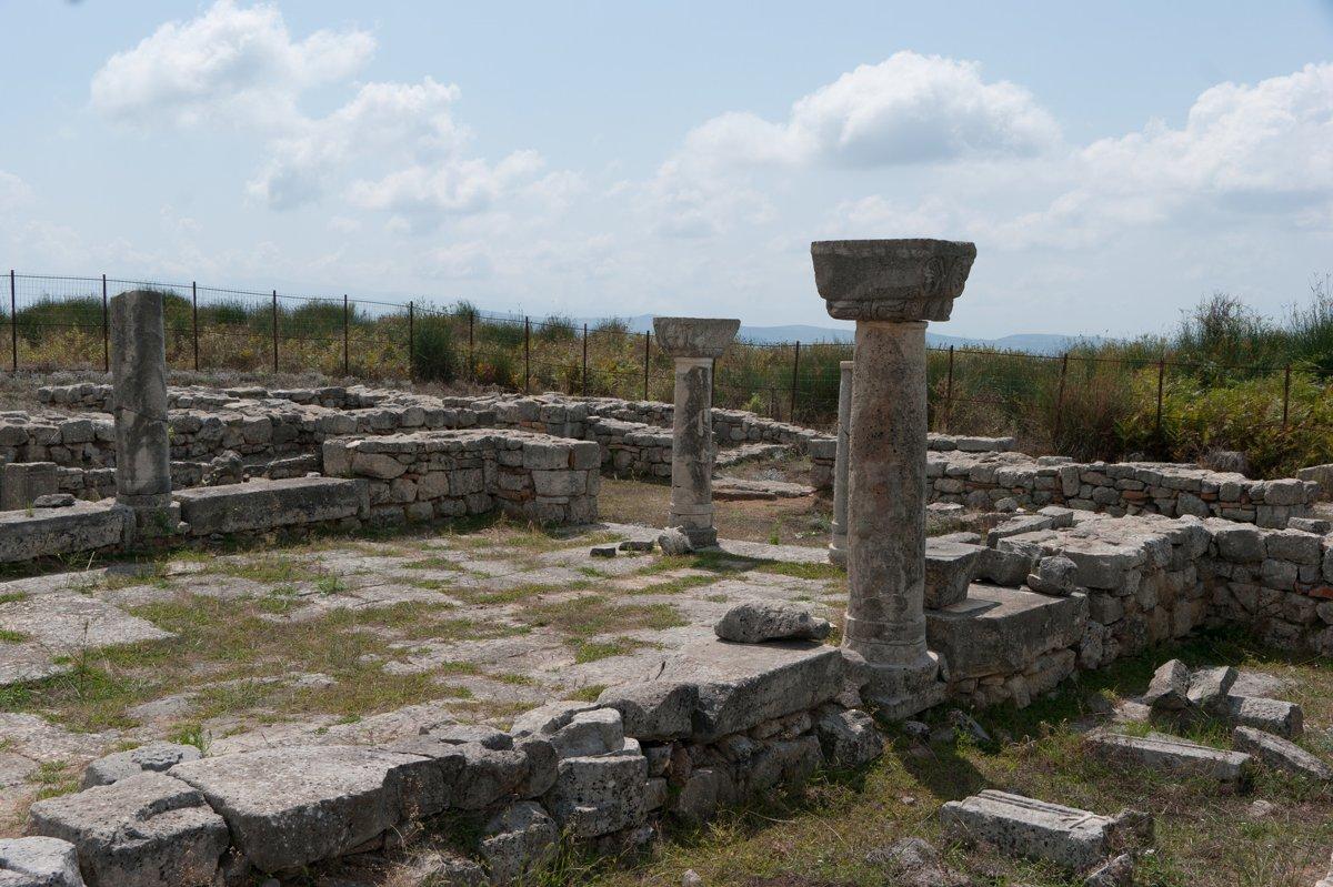 Le rovine del parco archeologico di Bylis