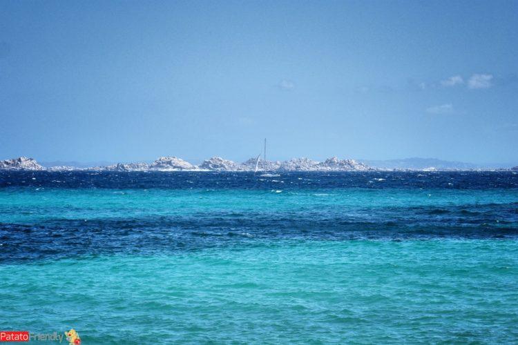 isole lavezzi viste da Capo Sperone