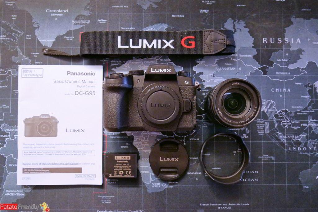 Recensione Panasonic G90 - Unboxing e dotazione