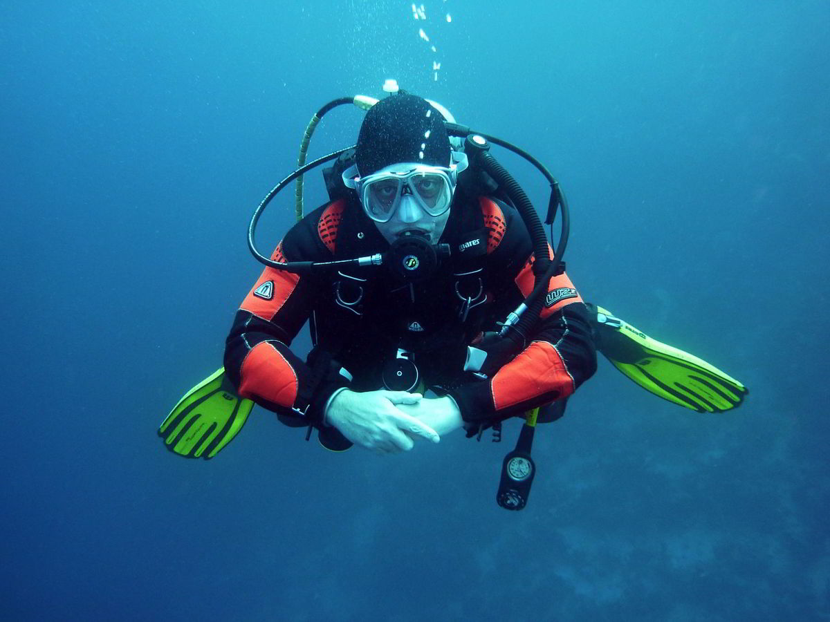 immersioni con autorespiratore